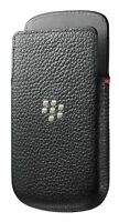 New OEM Black Leather Pocket Pouch Cases Covers For BlackBerry Q10 BB Q-10 BB10