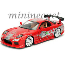 1993 mazda rx7 fast and furious. jada 98338 fast and furious domu0027s mazda rx7 124 diecast model car red 1993 mazda rx7 fast and furious
