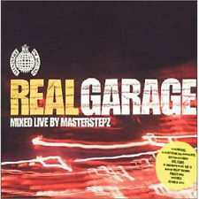 REAL GARAGE - mixed by MASTERSTEPTZ 2 CD NEW