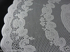 "24"" PLASTIC LACE TABLE MATS DOILIES ROUND PLACEMAT"