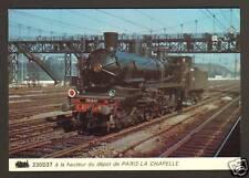 TRAIN ,LOCOMOTIVE 30 D 37 au Dépot de PARIS-LA CHAPELLE
