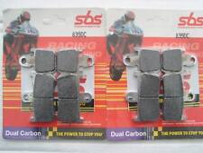 SBS Dual Carbon FRONT BRAKE PADS Race Track 839DC
