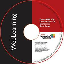 Oracle Business Intelligence 10 G: Créer des rapports et tableaux de bord Boot Camp CBT