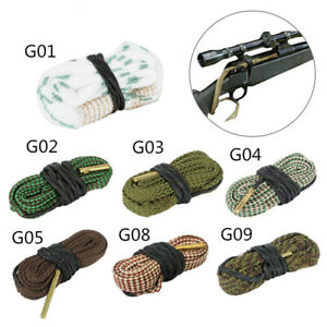 Hunting Gun Bore Cleaner Snake Rifle Cleaning Kit Tool Rifle Barrel Calibre