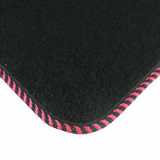 Classic Non Tailored Universal Black Luxury Floor Mats Genuine Interior Set
