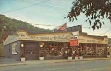 Wheeling West Virginia Factory Glass Outlet Gift Shop Vintage Postcard K79977