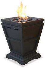 Outdoor Fire Pit Fireplace Backyard Patio Deck Table Top Heater Propane Gas LP