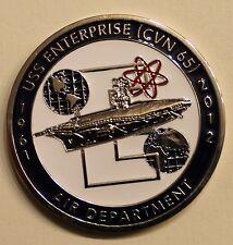 USS Enterprise (CVN-65) Air Department Aviation Navy Challenge Coin