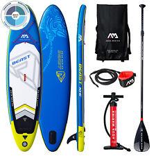 SUP Board Inflatable Stand Up Paddle bis 140 kg Set ISUP AQUA MARINA BEAST 2019