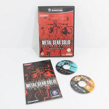 Metal Gear Solid The Twin Snakes-completa-En muy buena condición-Nintendo Gamecube GC Wii PAL