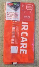 HF Happy Flight In Luggage Hair Care Organizer Orange  NWT  $16