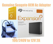 GENUINE SEAGATE MAXTOR EXPANSION HD ADS-24F-12 1224GPCU AC ADAPTER 12V 2A