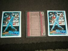 Lot of 100 1989 Topps Fred McGriff cards #745 Toronto Blue Jays