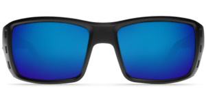 Costa Del Mar PERMIT Black Blue Mirror Sunglasses 580G Glass PT 11 OBMGLP