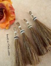 Horsehair Tassels, jewelry, bridle, purse tassel, cinnamon, horse hair tassel