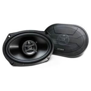 Hifonics Zeus 800 Watt 6 x 9 Inch 3 Way Car Audio Coaxial Speakers Pair ZS-693