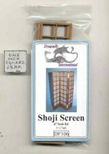 Shoji Screen Kit DF106 - dollhouse furniture kit Dragonfly 1/12 scale wood