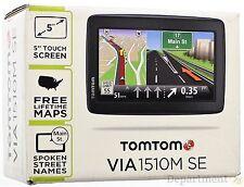 "TomTom Via 1510M Se 5"" Touchscreen Gps Unit Navigation system"