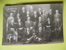 1921 Foto AK Coburg Zuschneid Kurs Schneider?
