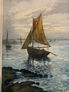 Alphonse Lafitte (Manuel Robbe) Aquatint limited edition signed print crca1920