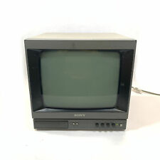 "Sony PVM-135 13"" Black and White CRT Video Monitor"