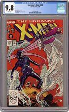 Uncanny X-Men #230 CGC 9.8 1988 3757841006