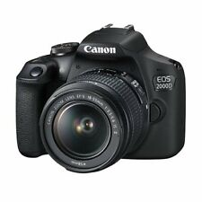 New Canon EOS 2000D DSLR Camera and EF-S 18-55 mm f/3.5-5.6 IS II Lens UK*3