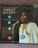 SHIRLEY BASSEY WITH NELSON RIDDLE AND HIS ORCHESTRA MFP5230 STEREO LP