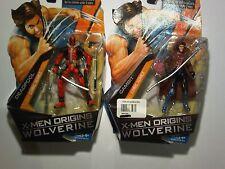 X-Men Origins Wolverine, Gambit and Deadpool