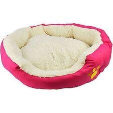 Couchage, paniers et corbeilles lavable en machine rose pour chien