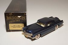 ~ BROOKLIN BRK 11 1956 LINCOLN CONTINENTAL MARK II COUPE METALLIC BLUE MINTBOXED