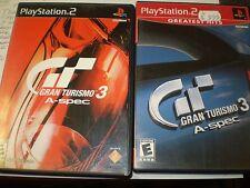 Playstation 2 Bundle Gran Turismo 3 A Spec Gran Turismo 3 Greatest Hits Used