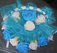 /BRIDESMAIDS  FLOWER BASKETS DIFFERENT COLOURS