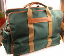 Lancel -  Sac de Voyage - toile vert  environ 56 X 30 X 36 cm -