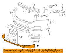 GMC GM OEM 15-16 Yukon Front Bumper-Spoiler Lip Chin Splitter 22936430