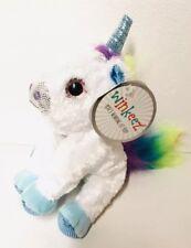 "New Winkeez White Rainbow Unicorn 6"" Stuffed Animal Plush Sparkle Toy Gift New"