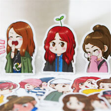 28pcs/set KPOP Red Velvet Cartoon Irene SeulGi Joy Wendy Decal Sticker Scrapbook