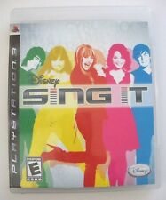 Disney Sing It - Playstation 3 PS3 Game - Complete & Tested
