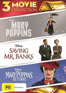 Mary Poppins   3 Movie Collection DVD