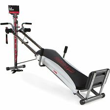 Home Exercise Total Gym 1400 Deluxe Fitness Machine Equipment Workout DVD Fold