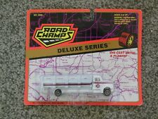 VINTAGE ROAD CHAMPS WASTE MANAGEMENT RECYCLE TRUCK IN BLISTER MIP MOC