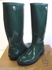 UGG SHAYE PINE TALL RAIN BOOTS WOMEN US 6 /UK 4.5 /EU 37