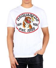 Dsquared T-Shirt Herren Shirt Dsquared2 Tiger Rider  - S71GD0876 -  NEU