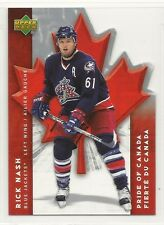 2007-08 Upper Deck McDonald's Pride of Canada - #2 - Rick Nash - Blue Jackets