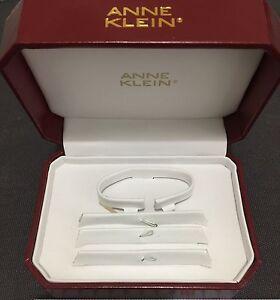 Anne Klein Empty Burgundy Display Box