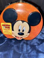 Lunch Box Disney Mickey Mouse Contains Hard Grape Candy Factory Sealed - NEW