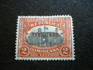 Stamps - Dominican Republic - Scott# 177 - Overprint