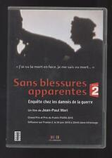 DVD SANS BLESSURES APPARENTES ENQUETE CHEZ LES DAMNES DE LA GUERRE  reportage