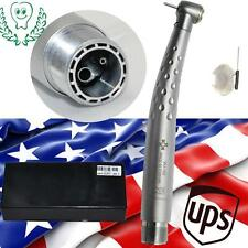 Ceramic Turbine LED light Speed fast Dental Handpiece Standard 2 Hole US express
