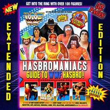 *NEW* WWF HASBRO GUIDE EXTENDED EDITION - 52 PAGES - WRESTLING BOOK WWE FIGURES